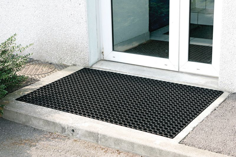 Awesome tappeto a griglia per ingresso standard per - Tappeti ingresso moderni ...