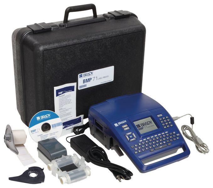 Kit di identificazione con etichettatrice portatile Brady BMP71