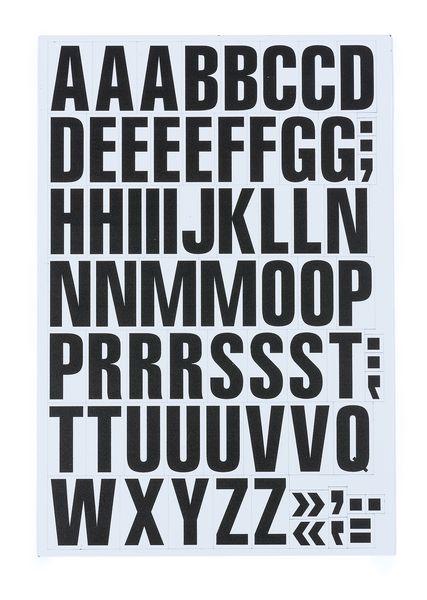 Set di cifre e lettere magnetiche