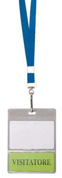Bustine portabadge a doppia tasca per badge e bristol