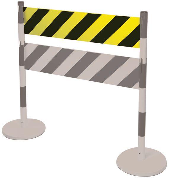 Barriere segnaletiche per paletti in acciaio