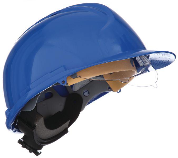 Casco di protezione JSP® MK7® con occhiali protettivi integrati