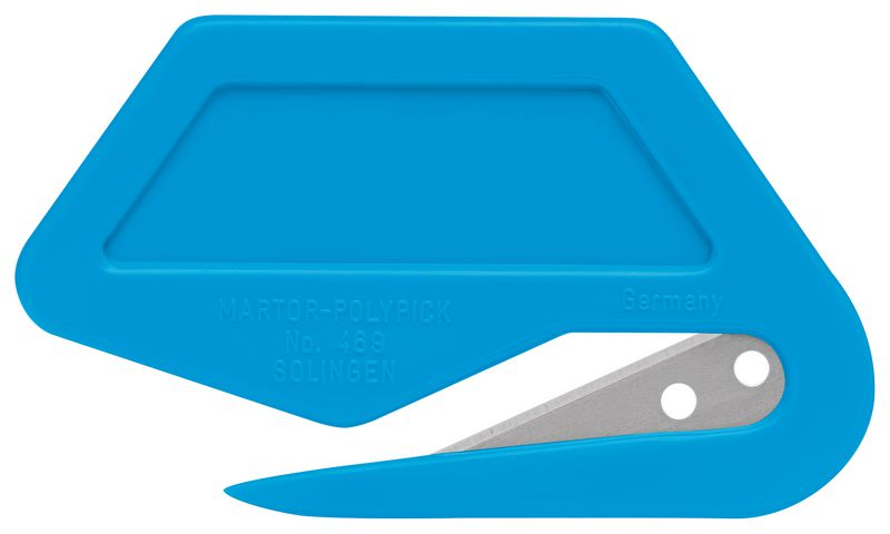 Cutter aprilettere in materiale rilevabile monouso Martor® Secumax Polypick