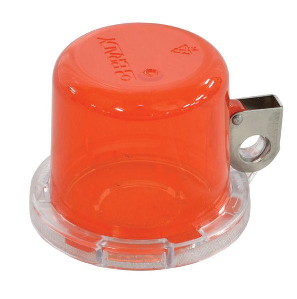 Dispositivo di bloccaggio per pulsanti e arresti di emergenza
