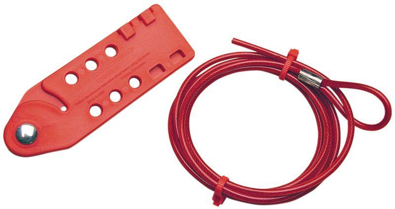 Sistema di bloccaggio meccanico tramite cavo