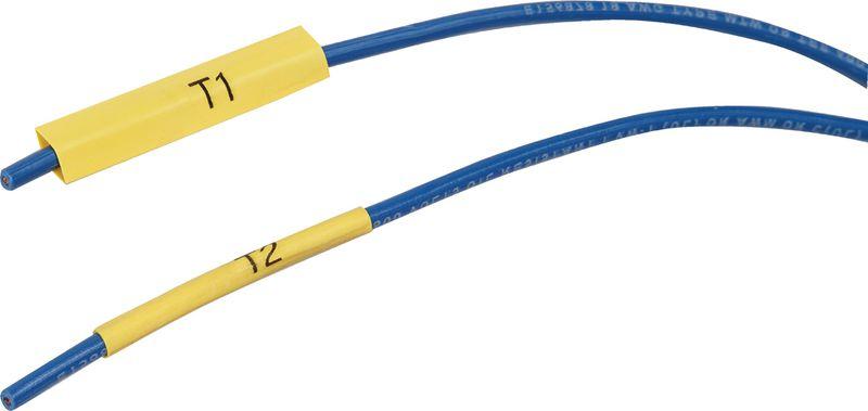 Guaina termoretraibile per la marcatura di cavi e fili - per etichettatrice BMP21