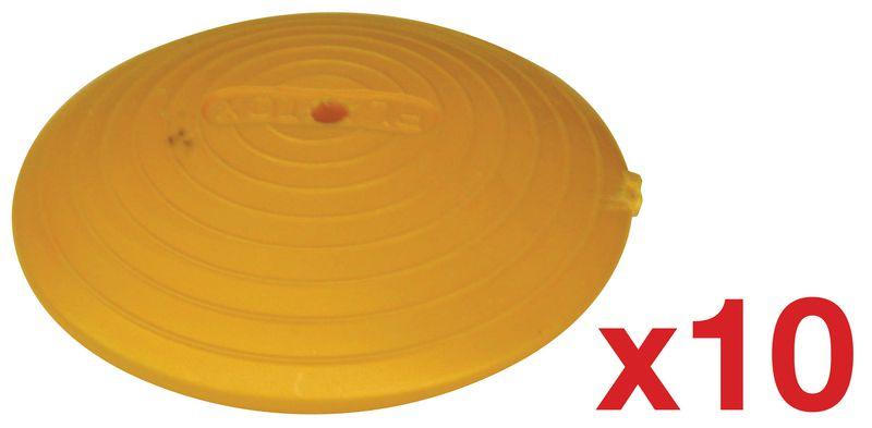 Kit di 10 chiodi stradali in plastica (8+2 omaggio)