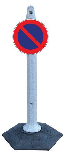 Supporto universale a base esagonale per fissaggio cartelli