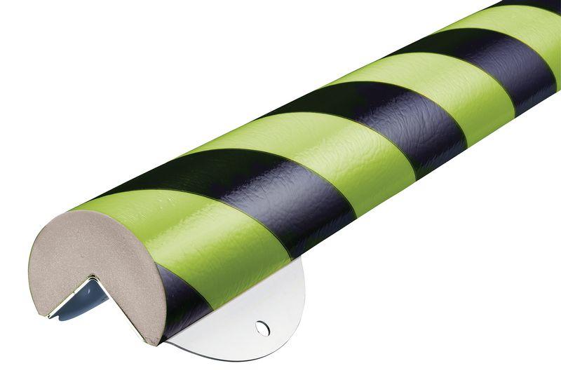 Profilo antiurto in schiuma armata Optichoc arrotondato - spigolo da 35 mm