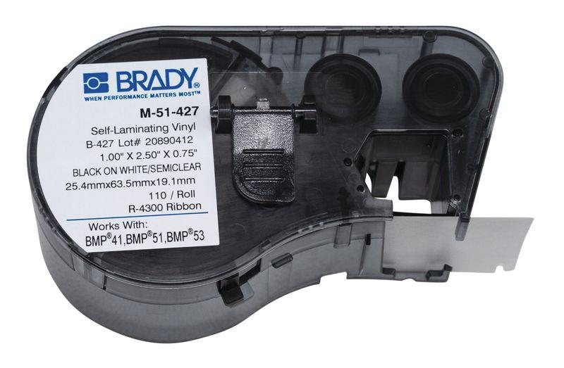 Etichette autolaminanti per cavi - per etichettatrice BMP51