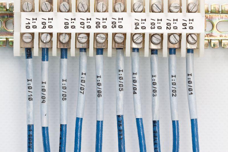 Marcatori termoretraibili per cavi e fili - per etichettatrice BMP71