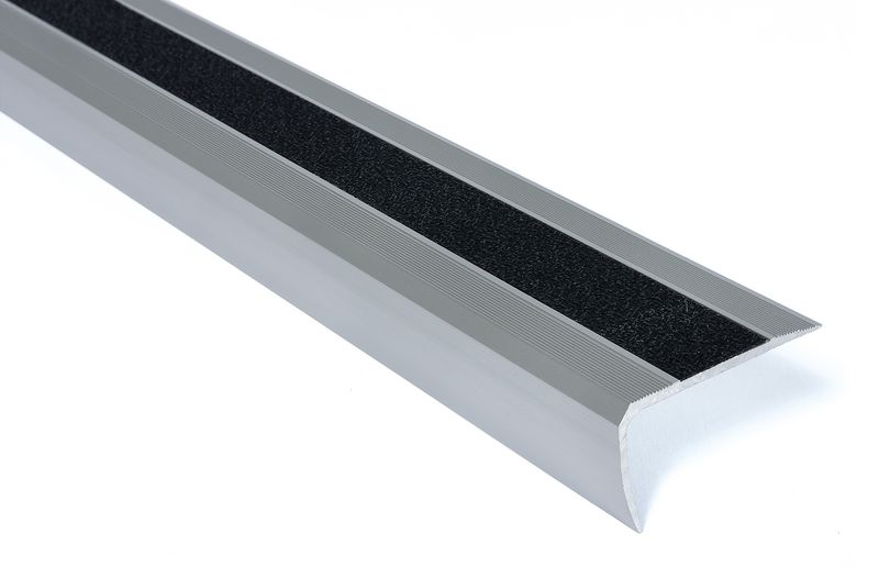 Profili antiscivolo per gradini in alluminio Easy Clean