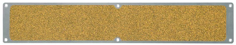 Lastre antiscivolo in alluminio giallo pubblico