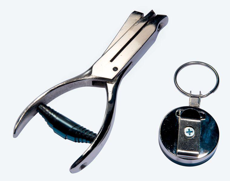 Kit perforatrice manuale in acciaio