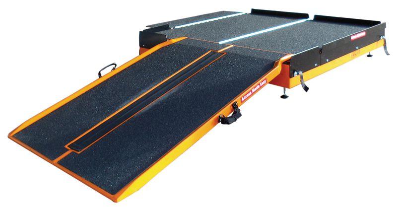 Piattaforma per rampa d'accesso pieghevole RAMPPLI