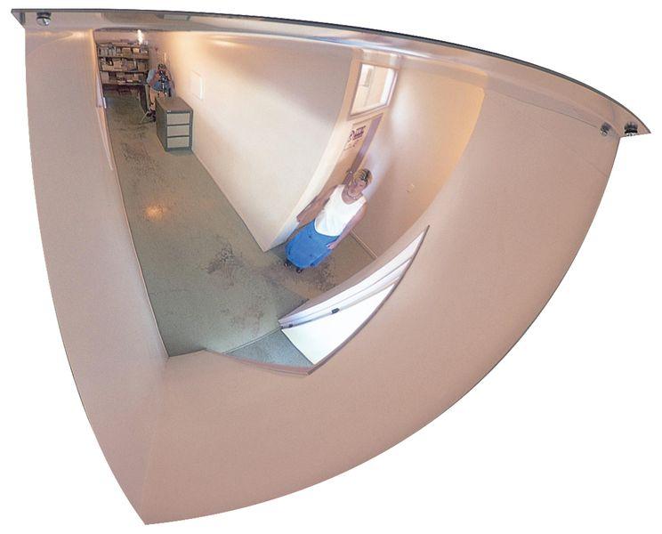Specchi di sorveglianza per interni quarto di cupola
