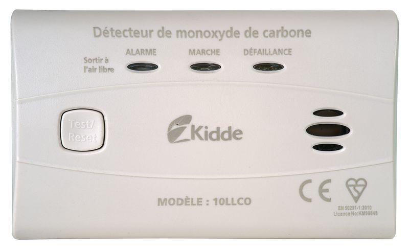 Rilevatore autonomo di monossido di carbonio Kidde