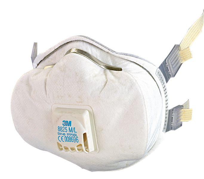 Mascherina antipolvere con valvola FFP2 3M™ 8825+ comfort
