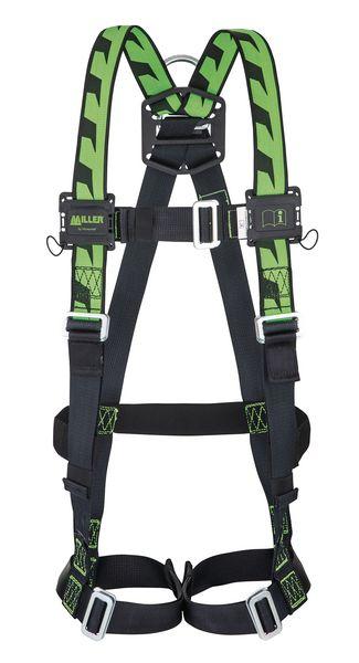 Imbracatura di sicurezza Miller H-Design® DuraFlex™ a 1 punto