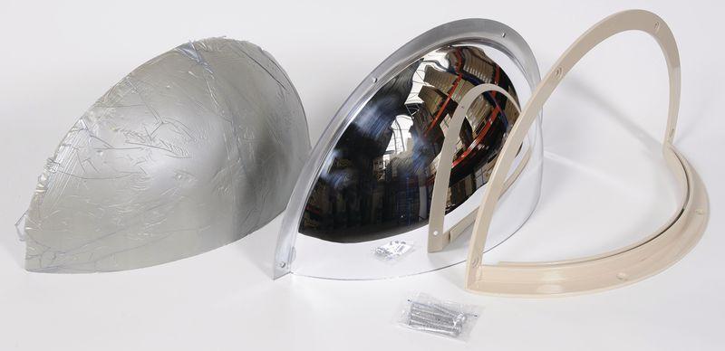 Specchio di sorveglianza in policarbonato infrangibile