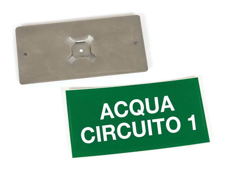 Kit di marcatori per valvole personalizzabili con supporto