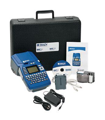 Kit di identificazione con etichettatrice portatile Brady BMP51