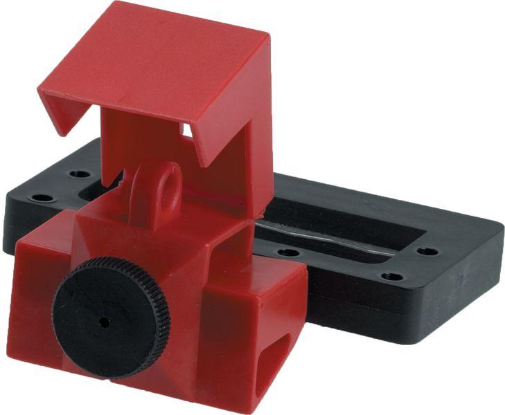 Sistema di bloccaggio per disgiuntori di grande formato