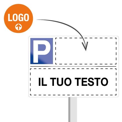 Cartelli « Parcheggio riservato » personalizzabili online
