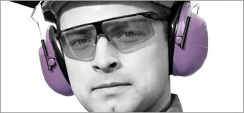 Cuffie di protezione uditiva e tappi per orecchie (DPI)