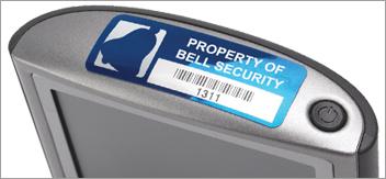 Etichette di proprietà