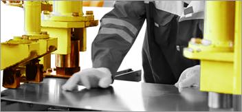 Prevenzione dei rischi meccanici (macchinari)