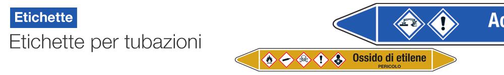 Etichette per tubazioni |