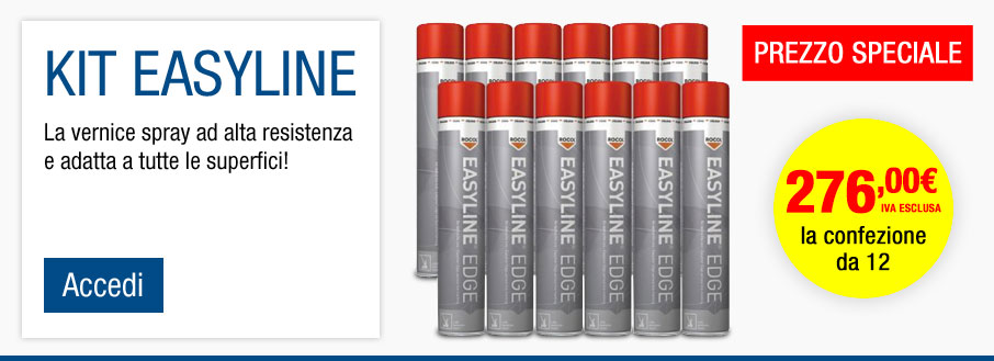 Kit di vernice spray Easyline®