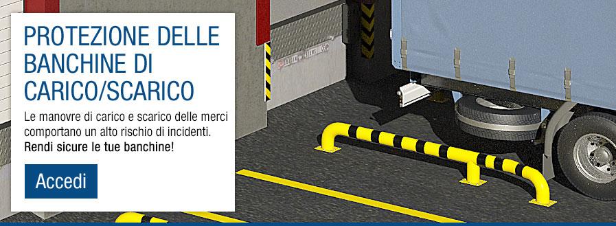 Protezione delle banchine di carico et scarico