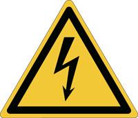 Pictogramme de danger électrique