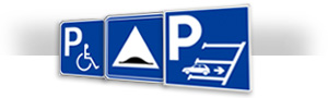 cartello di parcheggio