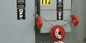Dispositivo universale per lockout (elettrico/meccanico/fluidi)