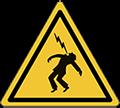 Pittogramma di pericolo folgorazione