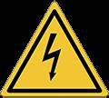 Pittogramma di pericolo elettrico