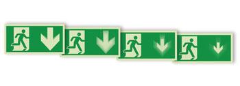 Pittogrammi di evacuazione