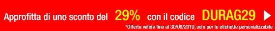 Promozioni etichette Durag29