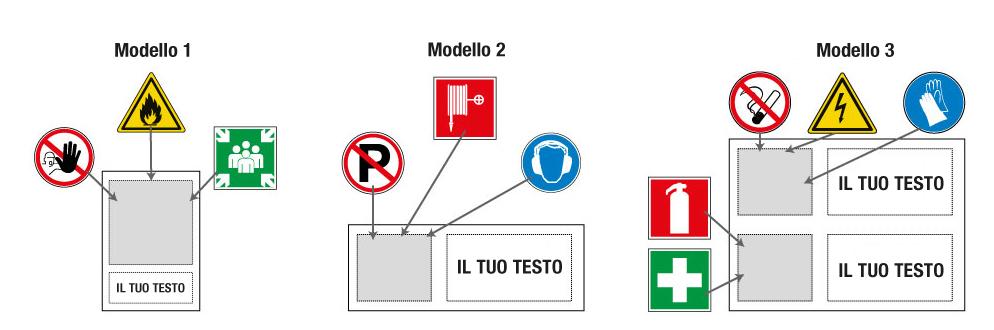 Modelli cartelli personalizzabili