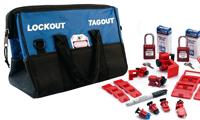 Lockout kits en tassen