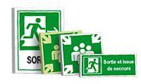 Borden en Pictogrammen Evacuatie