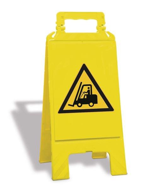 """A-bord """"Waarschuwing transportvoertuigen"""" - W014"""