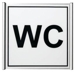 Deurborden van plexiglas en geanodiseerd aluminium