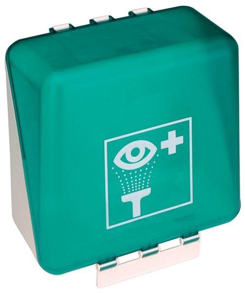 Lege wandbox voor oogspoelflessen