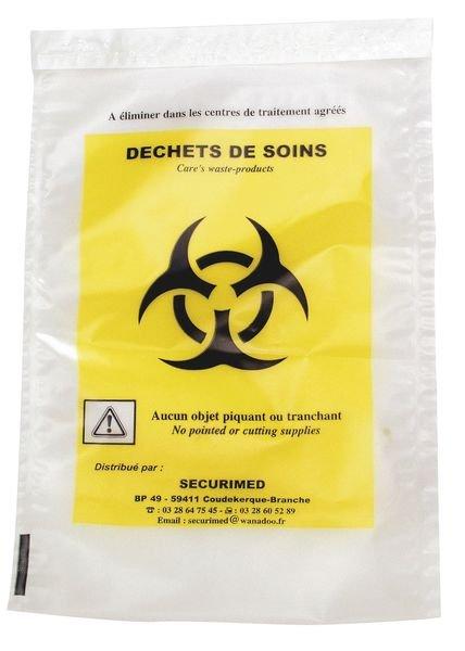 Afvalzak voor risicohoudend medisch afval