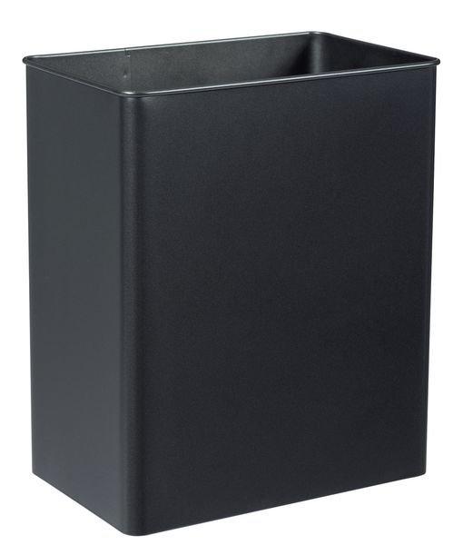 Kantelbare, rechthoekige vuilnisbak