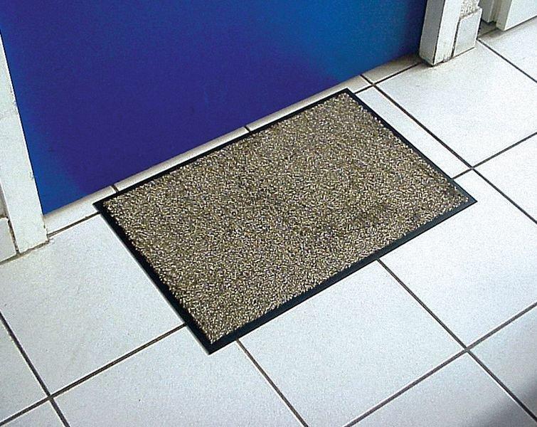 Heel absorberende microvezel deurmat